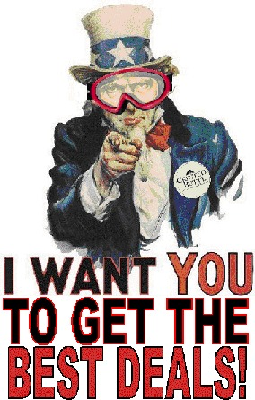 UNCLE SAM WANTS YOU TO GET THE BEST DEALS!